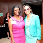 Lawyers of Color publisher, Yolanda Young and WFAA anchor, Shon Gables