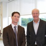 Foley & Lardner Partner, David Sanders with guest