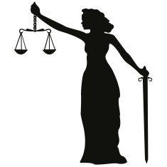 black lady justice